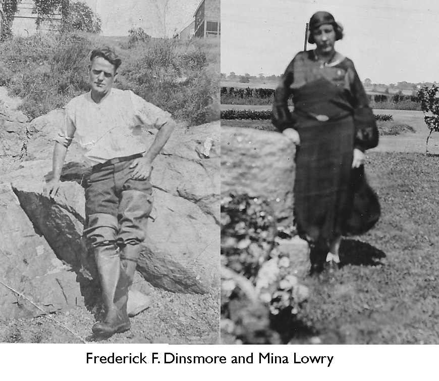 Fred and Mina Dinsmore